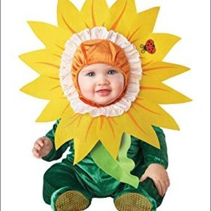 Other - Halloween baby silly sun flower costume L 2T 24mon